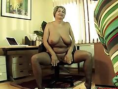 Mature female on porn casting Tonita from 1fuckdatecom
