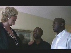 adult blonde & two black guys 1