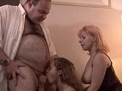 Lucky old fat man