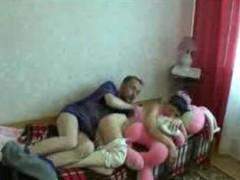 Crazy Russian Family Fuck