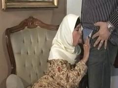 ARAB Muslim HIJAB Turbanli Nice Tits DOGGY FUCK Blowjobs -NV