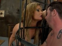 Nasty bitch Tory Lane dominates this silly tunnel