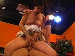 Horny darlings take pleasure in receiving facial cumshots