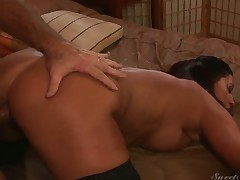 Magdalene St. Michaels can not stop sucking in insane oral action with hawt guy
