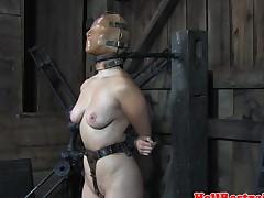 Hardcore sub serf pussy punished till orgasm