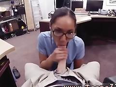 Dark brown slut hd Desperate nurse will do anything for cash