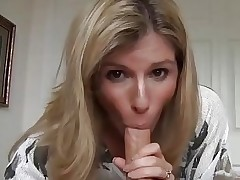 JOI Valentine's Day from MOM:mouth,stockings,pussy & cum deep in it!