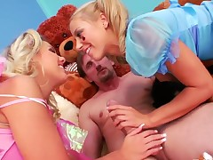 Mike Angelo touches the hottest parts of seductive Lou Charmelles body after he bangs her anal hole