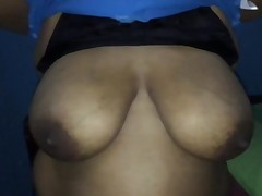 Huge boobs aunty shows part 2
