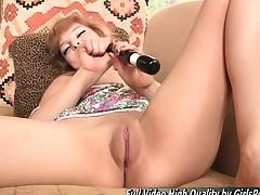 Phoebe XXX Masturbates With A Vibrator