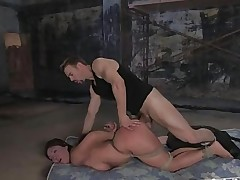 sub beauty gets hard anal and BDSM