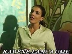 French Actress Karen Lancaume