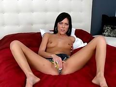 Masturbation in different positions