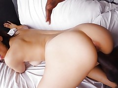 Izzy Bell penetrated by a throbbing darksome dick