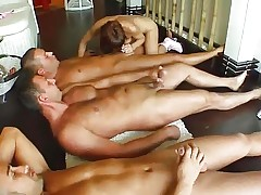 Hot Facial group cumshots for Regina on Cum For Cover