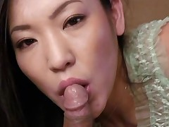 Japanese playgirl gets rough from behind drilling