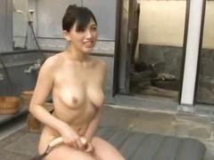 She Better Shower After This Cum Bath!