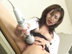 Masturbating Asian Teacher