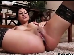 Sexy Latin Mother Fucked And Creampied