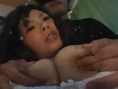 Lactating Asian Fuck Slut Gets Abused