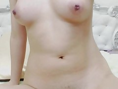 Cute Asian Chick Loves to Masturbate